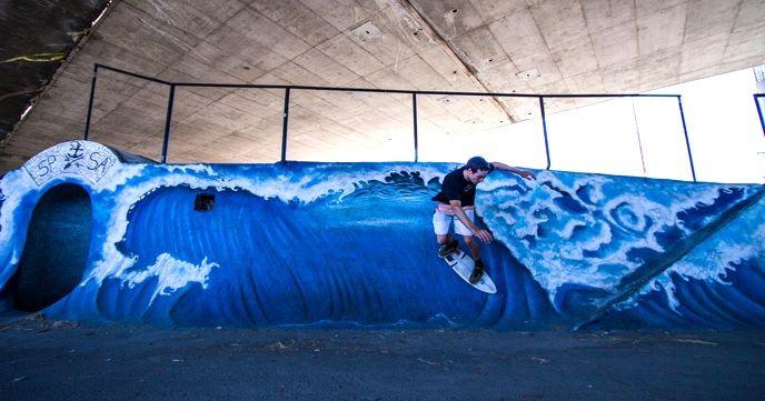 波が無ければ陸でサーフすればいい。サーフ感覚を再現した『RipSurf(リップサーフ)』が楽しそう。