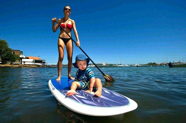 親子でサーフィンやSUP