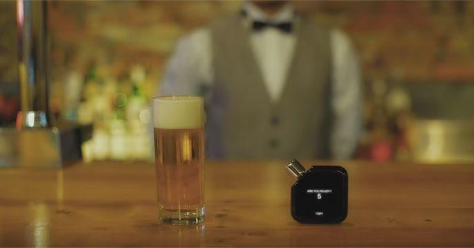 大人の新習慣、学習型アルコールガジェットTISPY