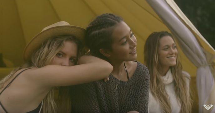 ROXYの2016年リリースビデオ『The 3 Amigos - ROXYxSummersite』が美しい。