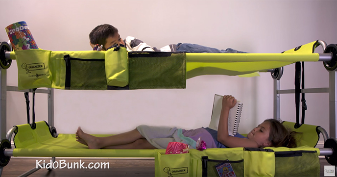 Can Be Used Outdoors Assembled Bunk Bed Kid O Bunk Is Cute