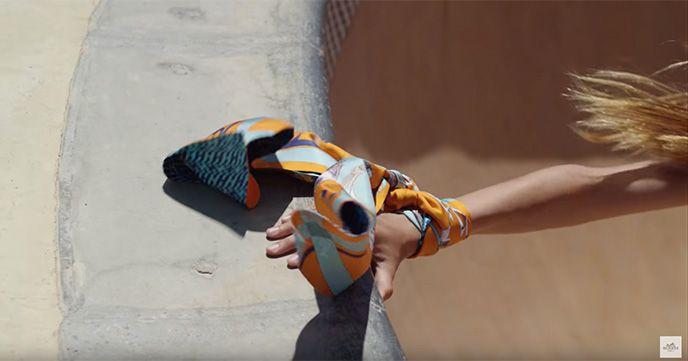 Hermes skateboard