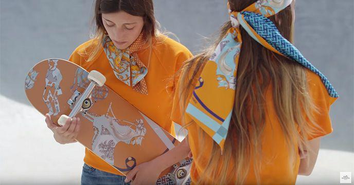 カッコイイです!Hermès(エルメス)がスケートボードムービーをリリース!!