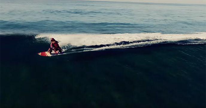 日清カップヌードル サーフィン