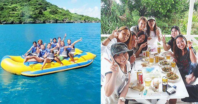 沖縄 バナナボート