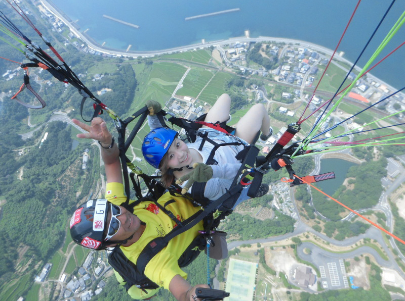 paraglider ที่เป็นที่นิยม