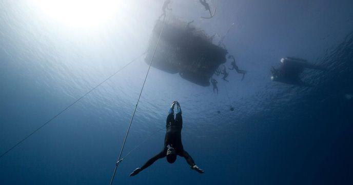 フリーダイビング 沖縄