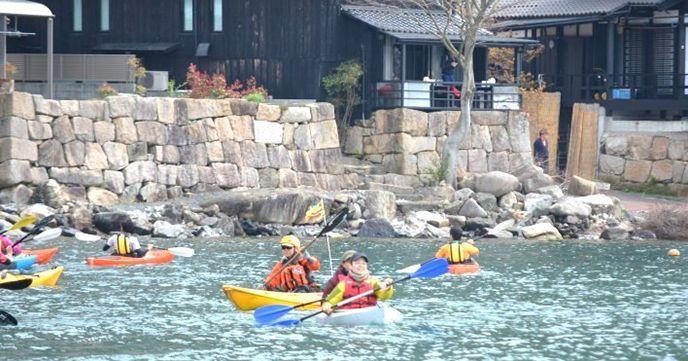 琵琶湖 カヤック