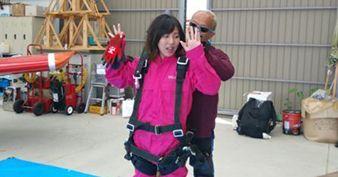 Skydiving reservation