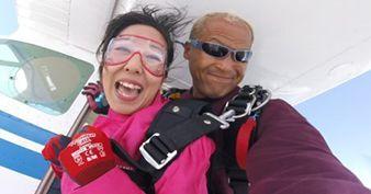 スカイダイビング 日本