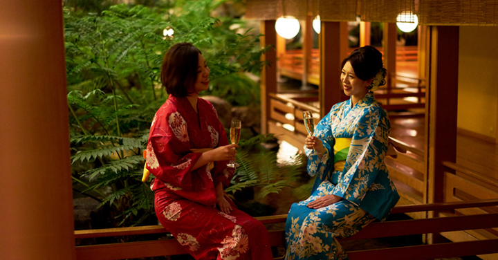 "【Yukata · Ticket with meals】 Hotel Gajyo Tokyo ""Japanese Akari x 100 steps"" will be held from 1 July (Sat) to 27 August (Sun) in 2017!"