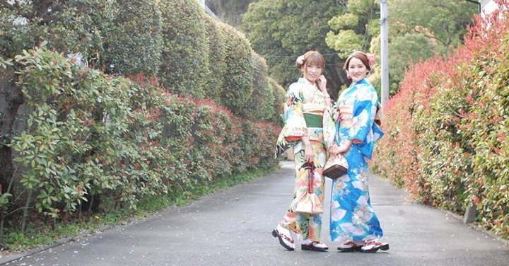 """[Kamakura กิโมโนเช่า] สถานี Kamakura เดินประมาณ 3 นาที! ที่อุดมสมบูรณ์และมีแผนจัดการที่ดีเป็นที่นิยม """"Imakoji กิโมโนเช่าคามาคุระ"""""""