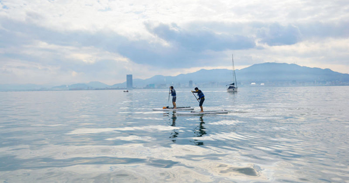 Lake Biwa SUP Experience Reservation