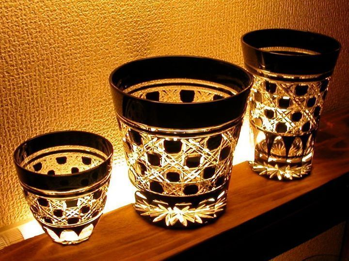 江戸切子 グラス