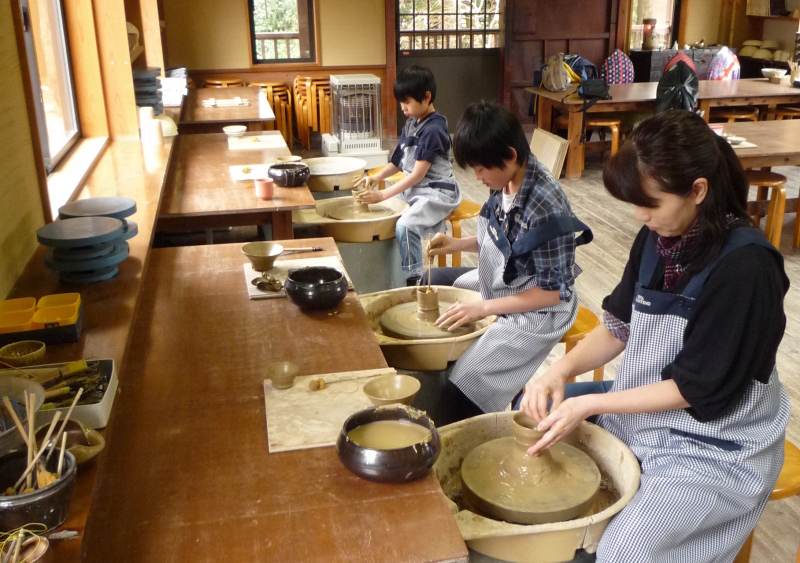 伊豆陶器體驗