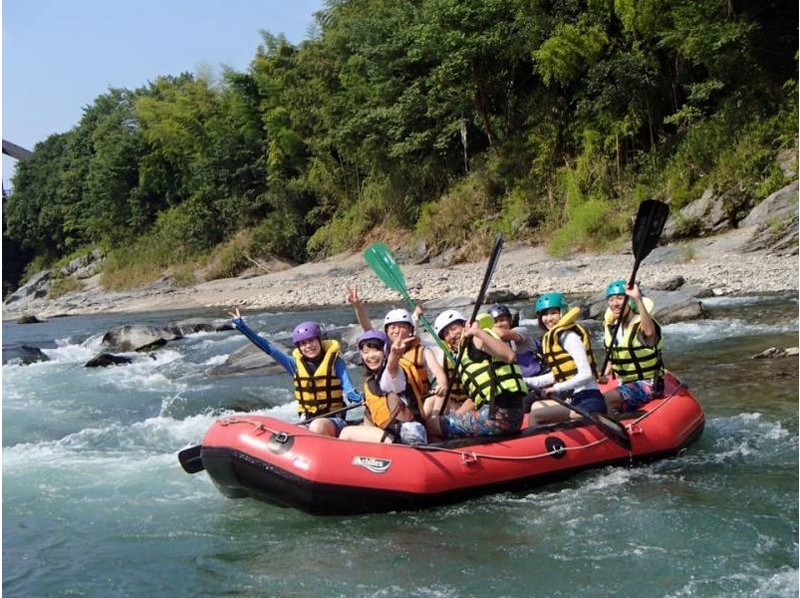 Rafting in the Kansai area