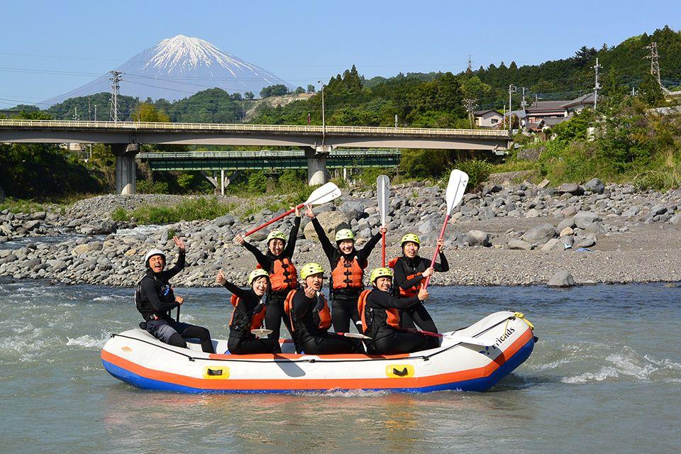 Rafting in the Tokai area