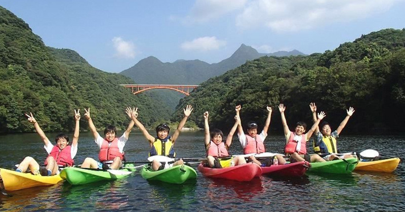 """【Yakusima Recommended】 Popular shop """"aqua style"""" where you can enjoy both river kayak and experience dive in one day"""