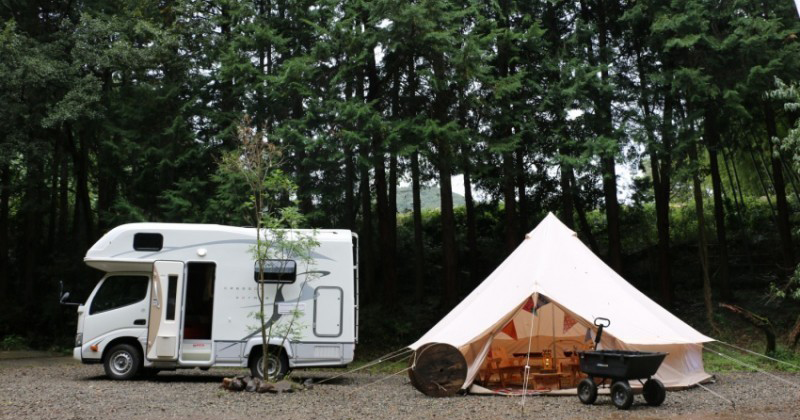 【Rental Camping Car x Grand Ping】 BBQ Set Plan Recommended ◎ Enjoy camping and outdoor gracefully!