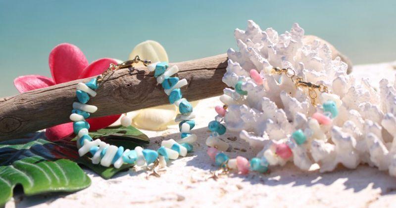 """[恩納海洋工藝體驗沖繩預約]讓我們把貝殼和珊瑚飾品和相框的推薦店""""Kanoa""""!"""