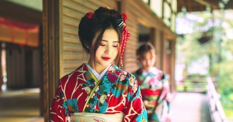 "【Kyoto Gion popular kimono · Yukata rental shop】 Cheapest 2,000 yen ~ Recommended shop that you can easily rent kimono ""Kyoto Kimono rental 麗"""
