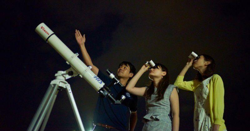 【沖縄・星空鑑賞ツアー】旅行会社《H.I.S.》×星を見せる会社《ビクセン》による夏の特別企画「琉球美ら宙ものがたり」