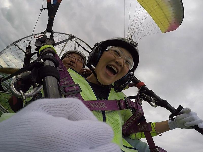 Sukaijimusano建議滑翔傘