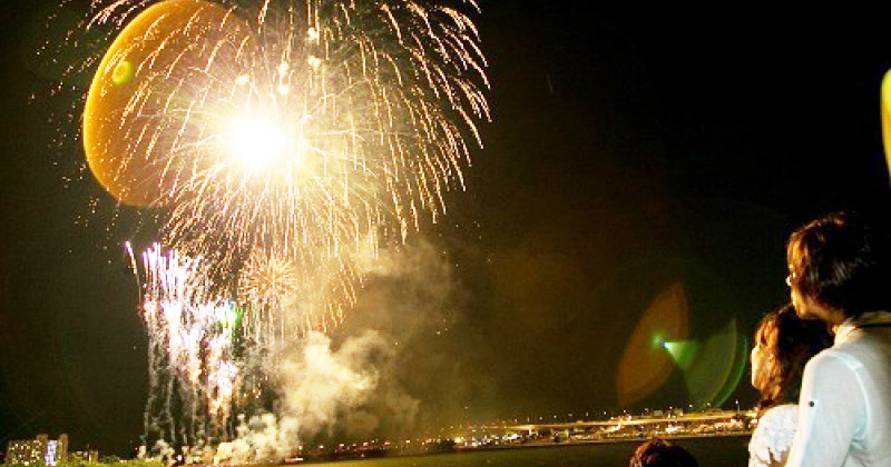 【6/2 (Sat) Yokohama Port Opening Festival 2018】 Beam spectacle in harbor elegantly from the top of the ship! Introduction of fireworks display tour cruise plans!