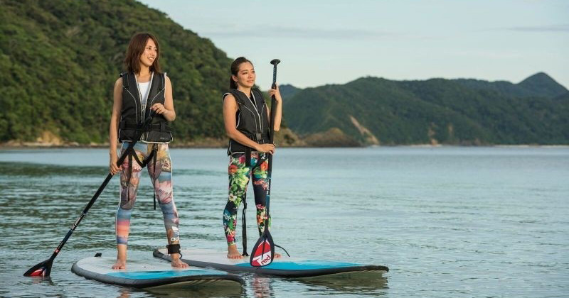 "【Amami Oshima recommendation】 Popular activity plan such as SUP and kayak is abundant! Marine sports facilities ""Zero gravity"""