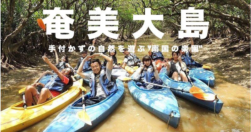 【Latest version】 Amami Oshima leisure reservation   Popular plan & Activity ranking · Shop list Mangrove Canoeing · Sea turtle Snorkeling etc etc ...