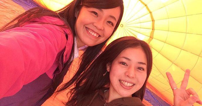 関東 熱気球