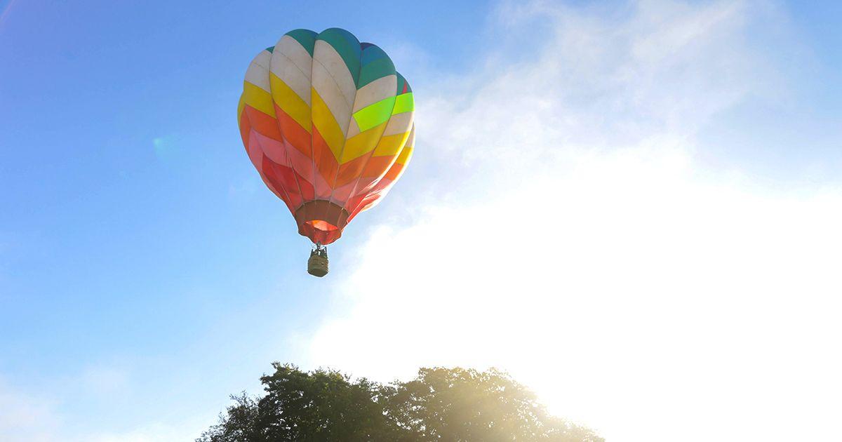 埼玉 熱気球