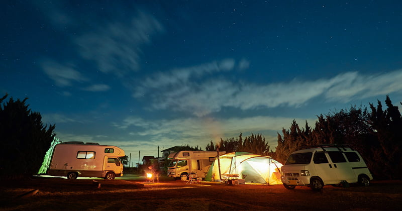 Winter camp How to choose a safe campsite even for beginners! Introducing recommended campsites