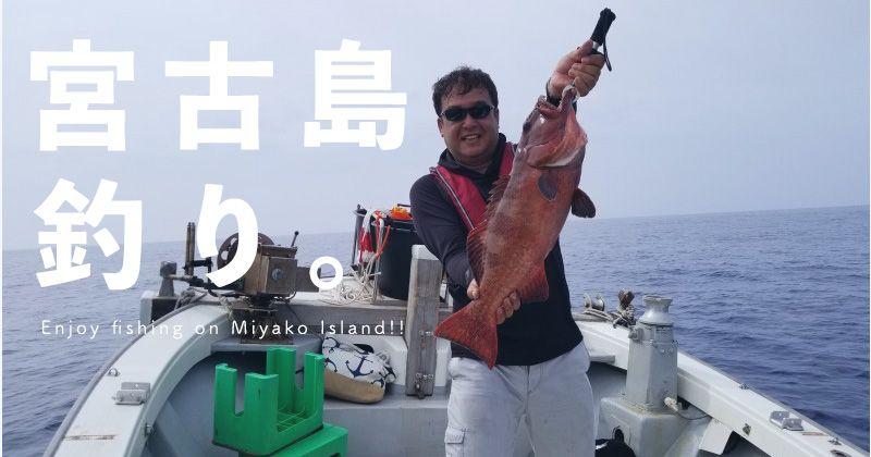 [미야코 섬 바다 낚시 · 낚시 보트 투어] 낚시 도구 대여 빈손 참가 OK! 추천 포인트에서 낚시 인기 플랜 & 숍 船宿 정보