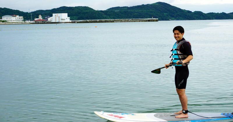 和歌山・浜の宮ビーチでSUP体験!