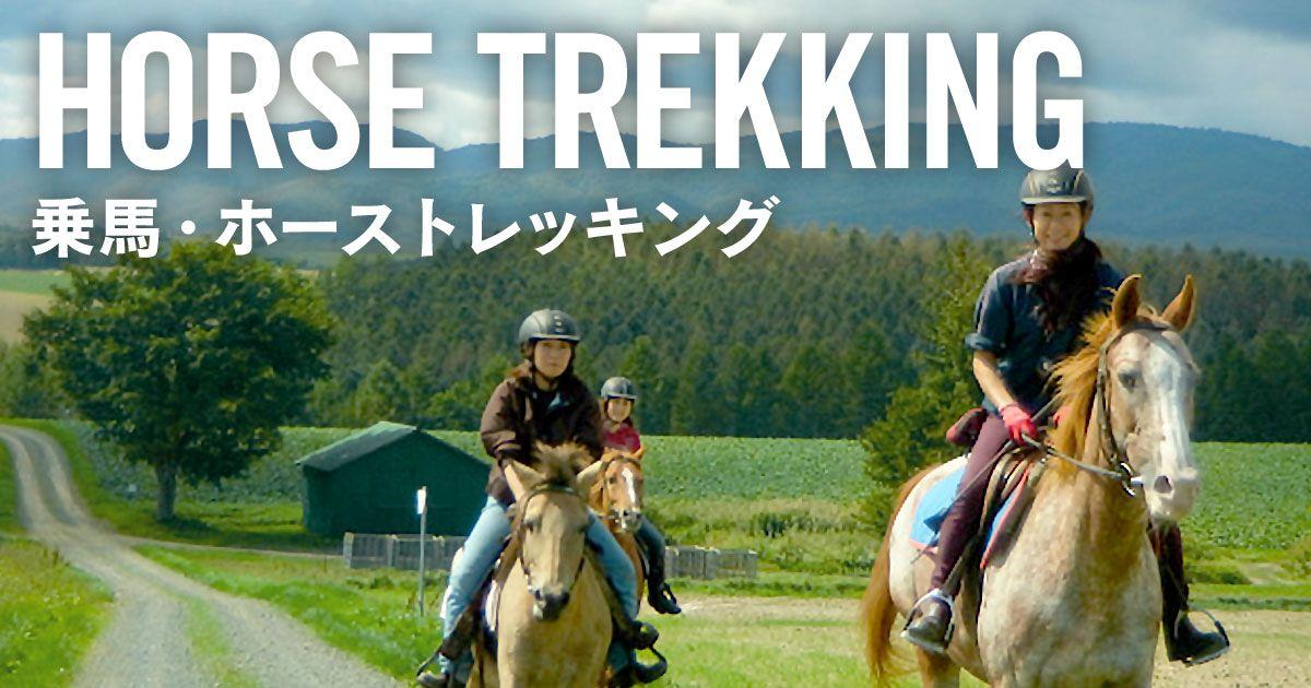福岡で楽しむホーストレッキングの料金相場などについて!
