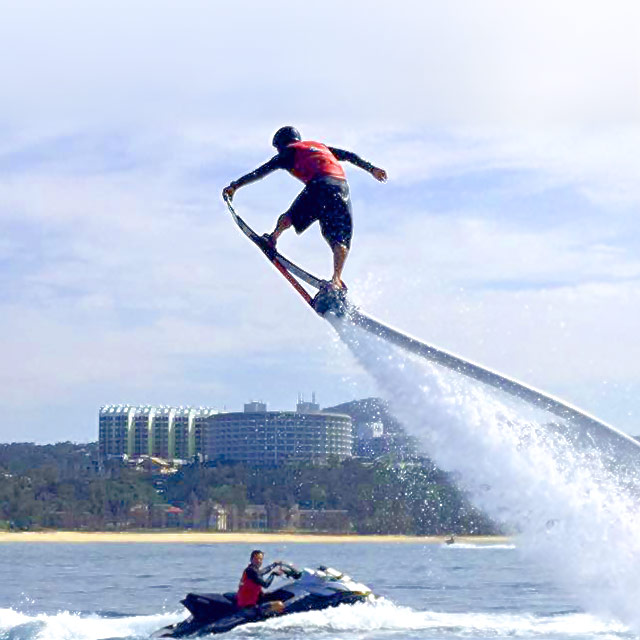 ホバーボード(空飛ぶサーフィン)