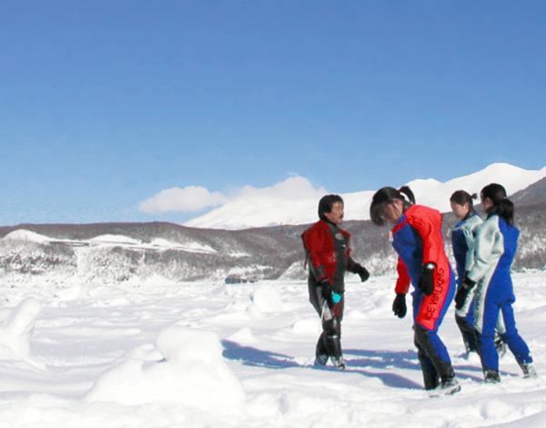 北海道ならでは!流氷ウォークを楽しもう