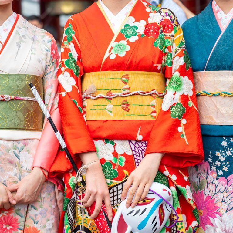Traditional Kimono Rentals