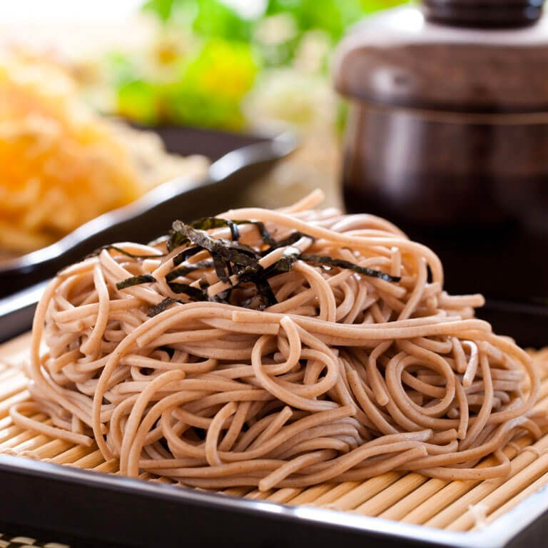 Soba Noodles Making