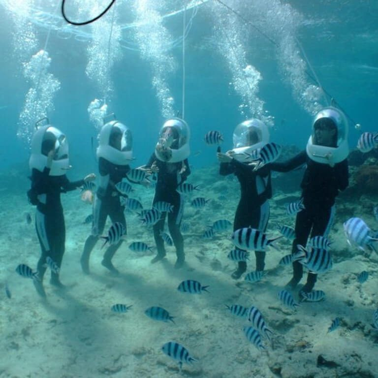 Underwater Walking