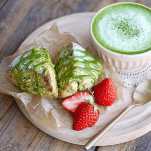 Matcha Desserts Making