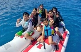 沖縄バナナボート・トーイングチューブ