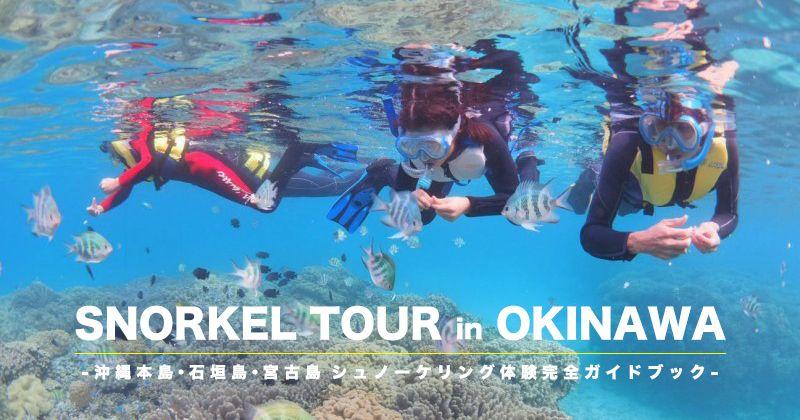 【沖縄本島・離島シュノーケリング】2021年最新版!スポット別人気体験ツアープランランキング&おすすめショップ情報