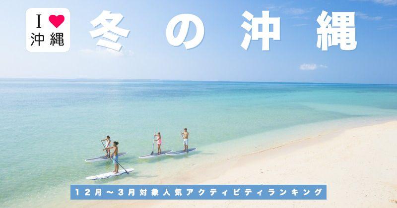 【冬の沖縄旅行】女子旅・ファミリーに人気!おすすめアウトドアアクティビティ・観光レジャー体験ツアー5選!