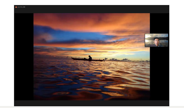 Enchanted by the wonderful sunrise on Iriomote Island! Iriomote Island Sea Kayaking Tour