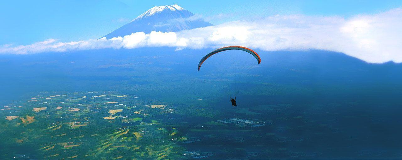 mountfuji  - 滑翔傘