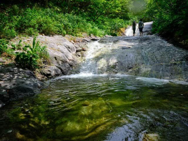 知床・おすすめ観光スポット:カムイワッカ湯の滝