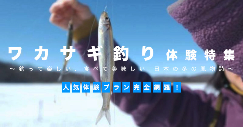 [Japan Smelt fishing popularity ranking] Ice / dome ship tour! Lake leisure winter features