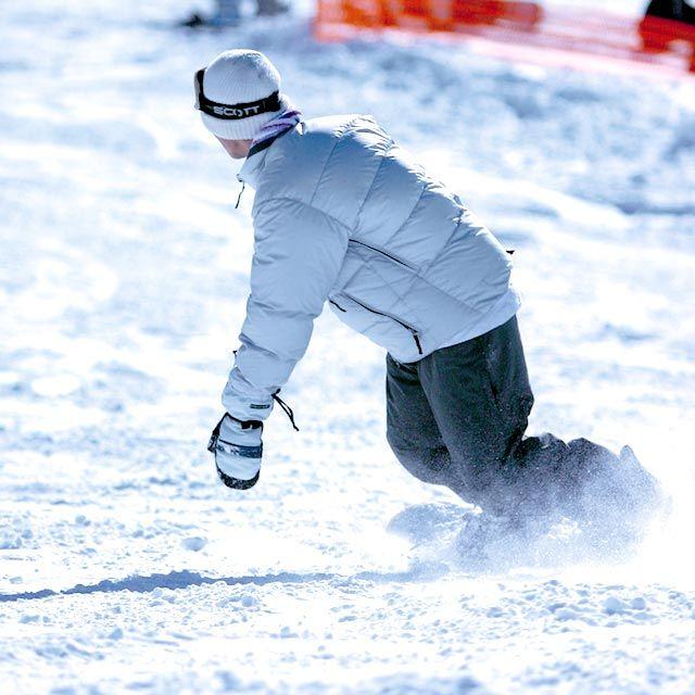 スノーボードレッスン